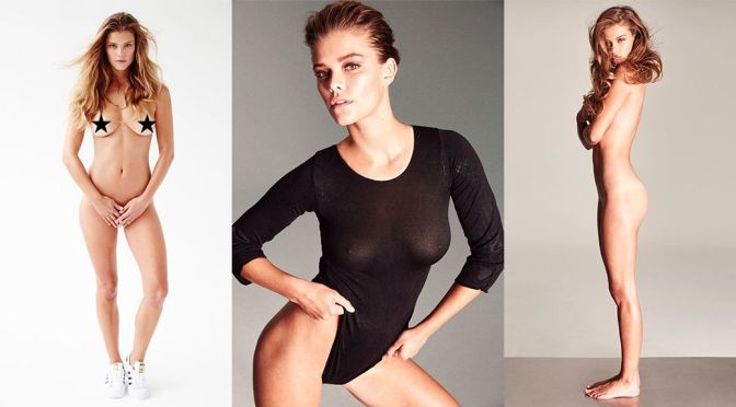 Nina Agdal – Naked Photoshoot by Frederic Pinet (NSFW) (Uncensored)