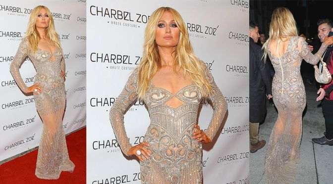 "Paris Hilton – ""Charbel Zoe"" Store Opening in Los Angeles"