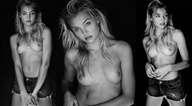 Rachel Hilbert – Topless Photoshoot by Elliston Lutz