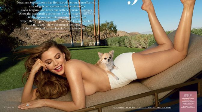 Sofia Vergara – Vanity Fair Magazine (May 2015)
