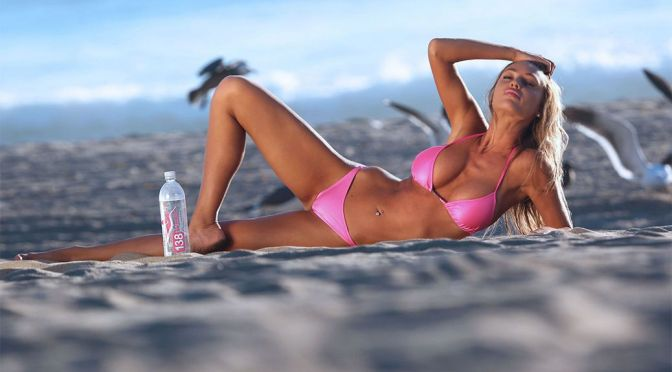 "Charlie Riina – ""138 Water"" Bikini & Topless Photoshoot (NSFW)"