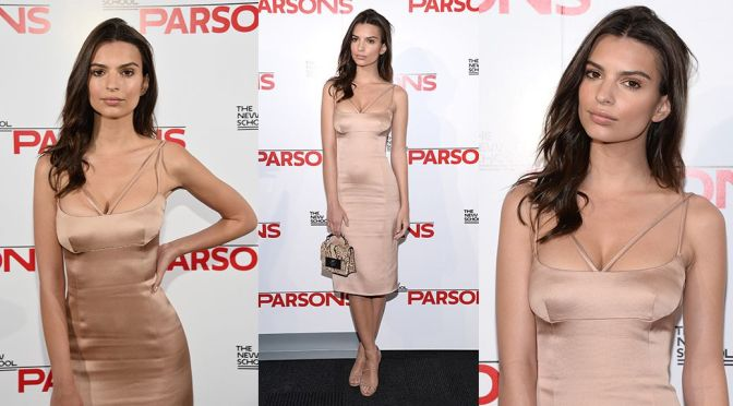 Emily Ratajkowski – 67th Annual Parsons Fashion Benefit