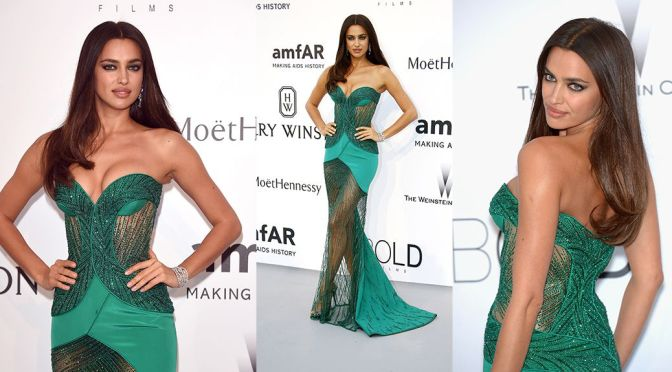 Irina Shayk – amfAR's 22nd Cinema Against AIDS Gala in Cannes