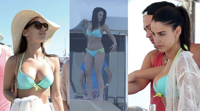 Jessica Lowndes – Bikini Candids in Cannes