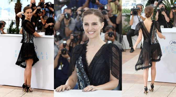 """Natalie Portman – """"A Tale of Love and Darkness"""" Photocall in Cannes"""