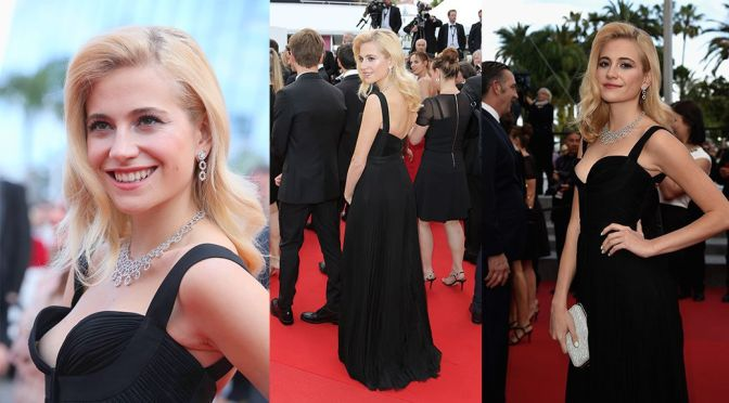 "Pixie Lott – Nip-Slip at ""Dheepan"" Premiere inn Cannes"