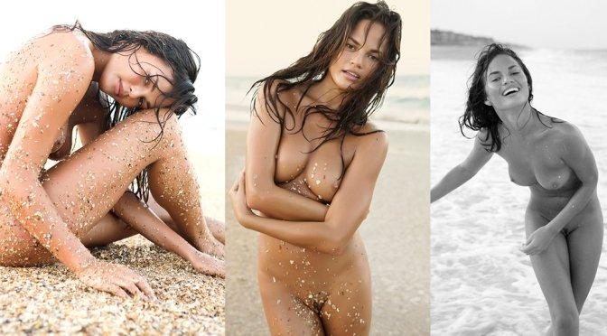 Chrissy Teigen – Nude Photoshoot by Dorian Caster (NSFW)