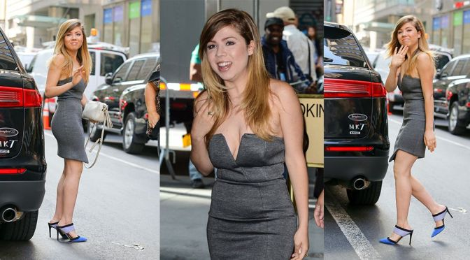 Jennette McCurdy at The Today Show in New York
