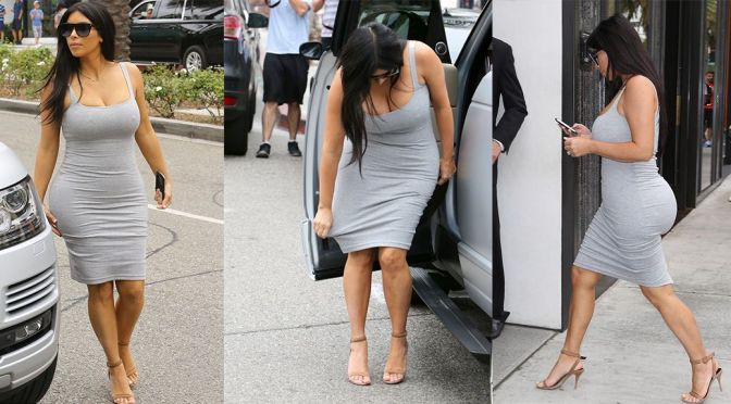 Kim Kardashian – Candids in Beverly Hills