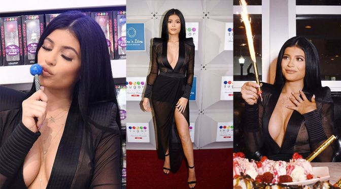 Kylie Jenner – Sugar Factory Grand Opening in Miami