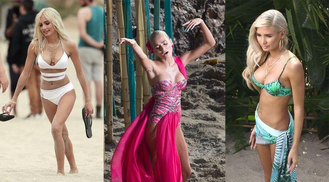 """Pia Mia Perez on """"Do It Again"""" Music Video Set in Malibu"""