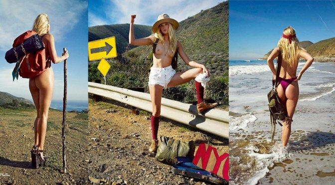 Elsa Hosk – Lui Magazine Topless Photoshoot (July/August 2015) (NSFW)