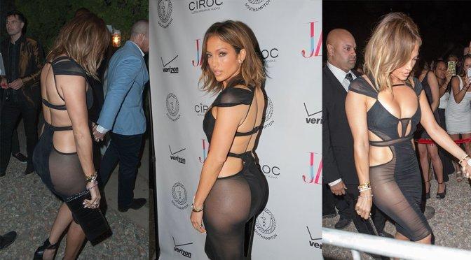 Jennifer Lopez – Birthday Party at 1OAK in New York