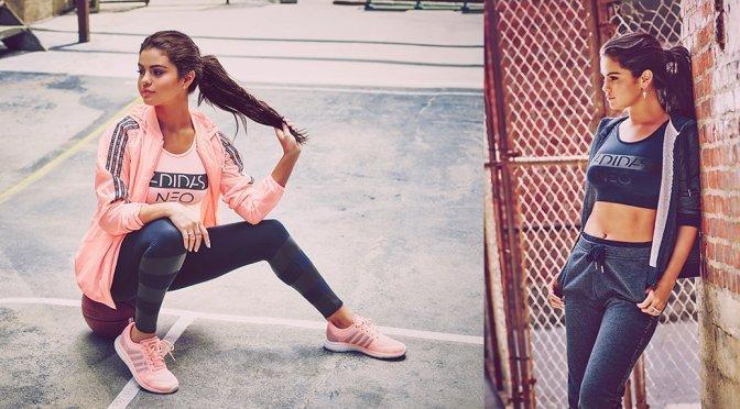 Selena Gomez – Adidas NEO Fall & Winter 2015 Collection