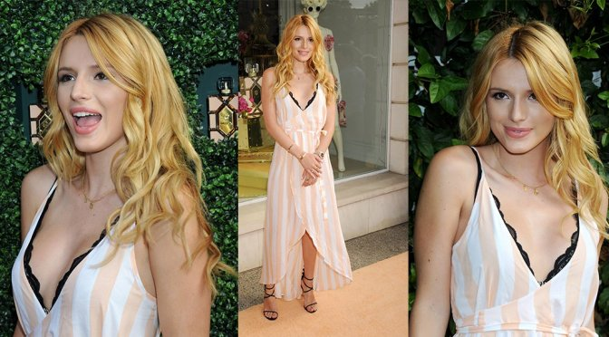 """Bella Thorne – """"Wildfox"""" Fragrance Launch in Los Angeles"""