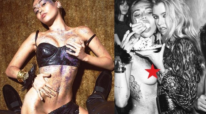 Miley Cyrus – W Magazine Photoshoot Preview (September 2015)