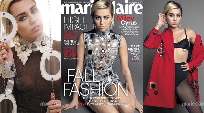 Miley Cyrus – Marie Claire Magazine (September 2015)