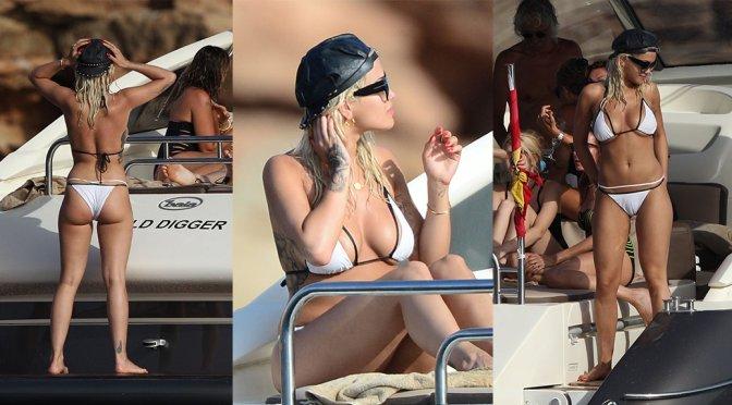 Rita Ora – Bikini Candids in Ibiza