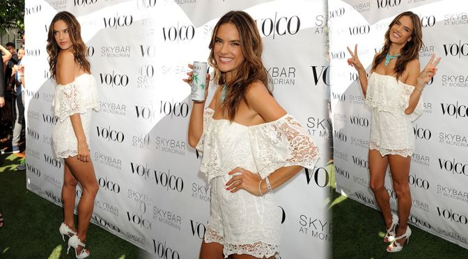 Alessandra Ambrosio – VO|CO Summer Closing Pool Party