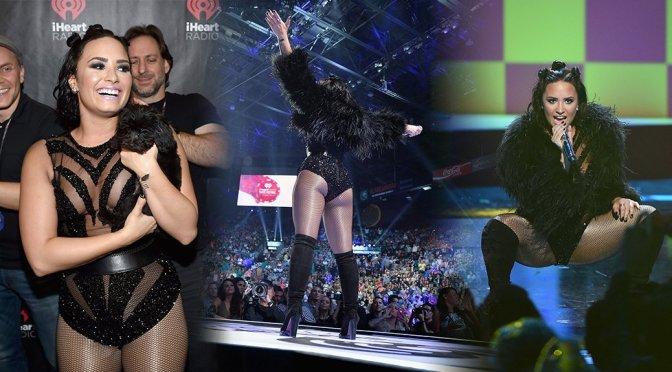 Demi Lovato – 2015 iHeartRadio Music Festival in Las Vegas