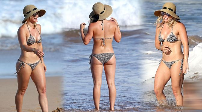 Hilary Duff – Bikini Candids in Hawaii