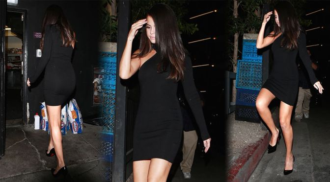 Selena Gomez – Leggy Candids in Beverly Hills