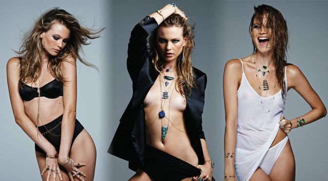 Behati Prinsloo – Topless Photoshoot by Jacquie Aishe (NSFW)