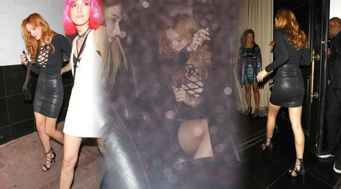 Bella Thorne – 18th Birthday Party at Beso Restaurant in Hollywood