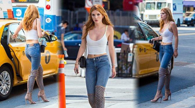 Bella Thorne - Candids in New York