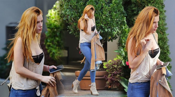 Bella Thorne - Candids in Vancouver