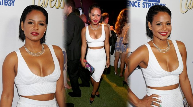 Christina Milian - Latina Hot List Party in West Hollywood