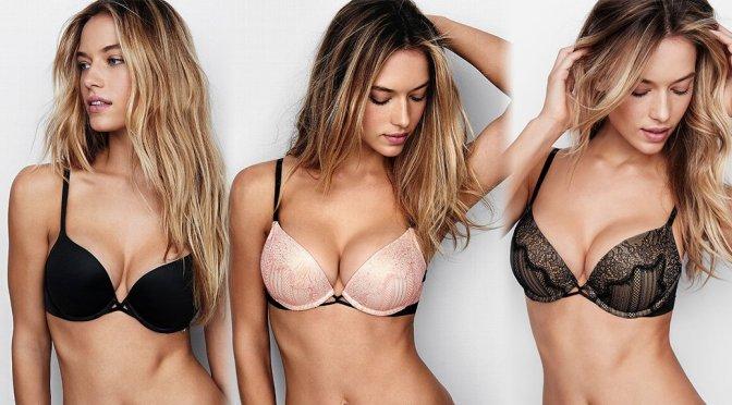 Hannah Ferguson - Victoria's Secret Lingerie Photoshoot