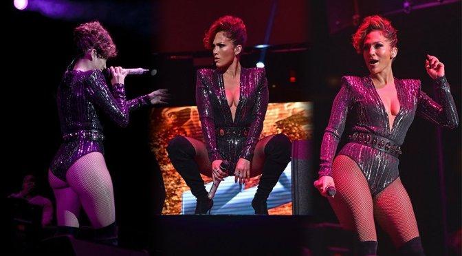 Jennifer Lopez - Mega 97.9 Megaton Concert in New York