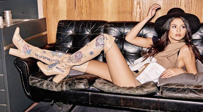 Selena Gomez - Grazia Magazine Photoshoot (October 2015)