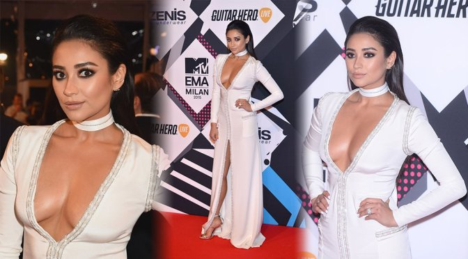 Shay Mitchell – MTV European Music Awards in Milan