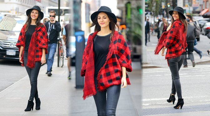 Victoria Justice - Candids in New York