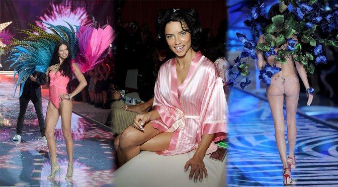 Adriana Lima – 2015 Victoria's Secret Fashion Show
