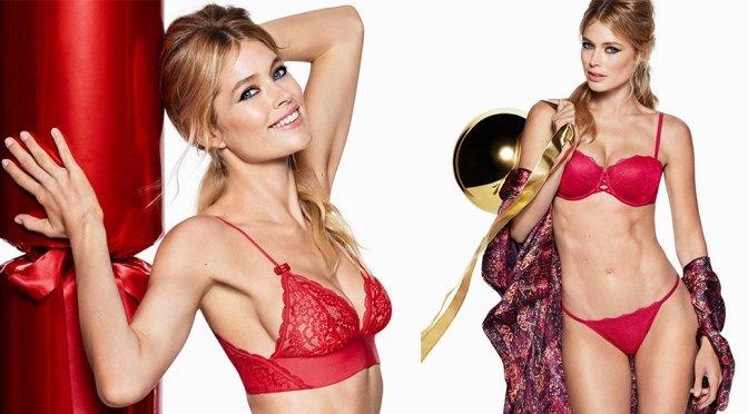 Doutzen Kroes - H&M Holiday Photoshoot