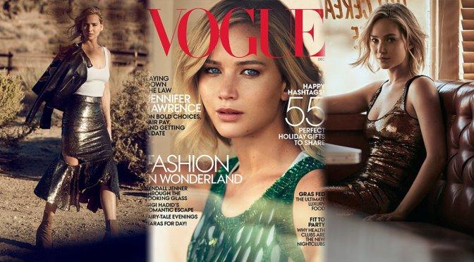 Jennifer Lawrence - Vogue Magazine (December 2015)