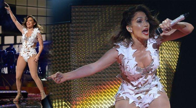 Jennifer Lopez - iHeartRadio Fiesta Latina in Miami