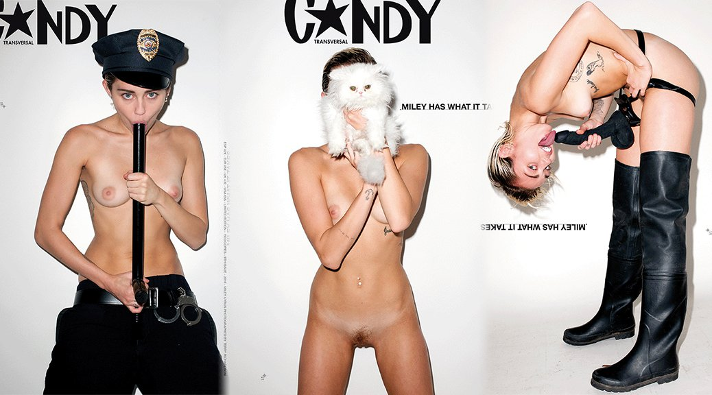 full body naked miley cyrus