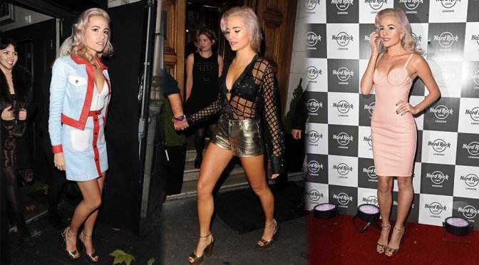 Pixie Lott at Hard Rock Cafe in London