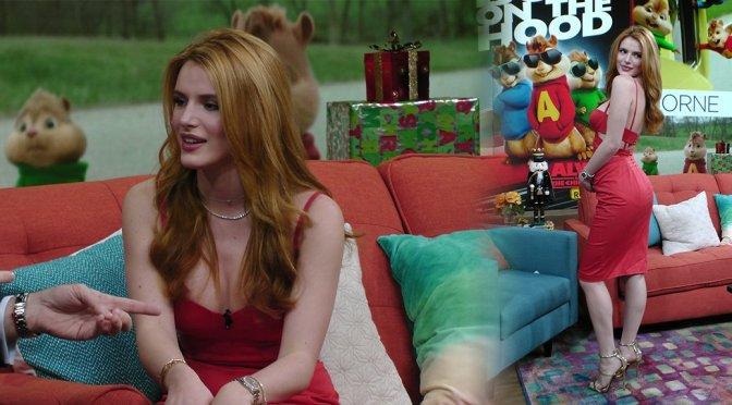 """Bella Thorne on """"Despierta America"""" in Miami"""