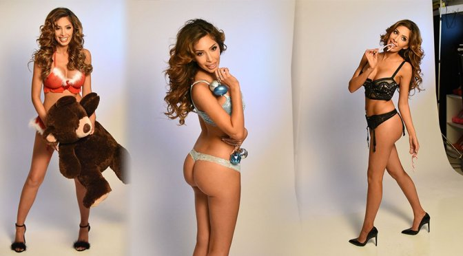 "Farrah Abraham – ""Eye Candy"" Lingerie Photoshoot"
