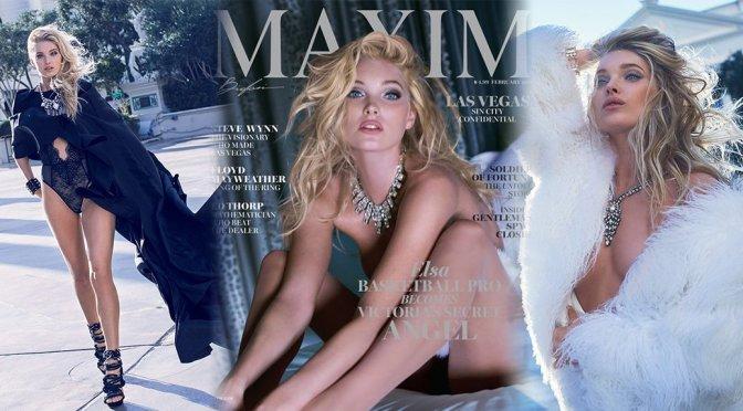 Elsa Hosk – Maxim Magazine (February 2016)
