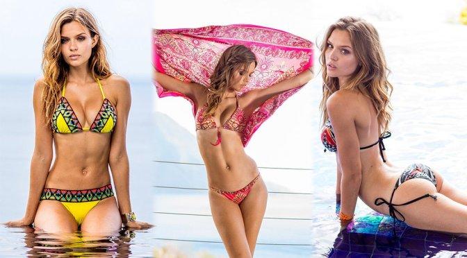 Josephine Skriver – Sauvage Swimwear Photoshoot
