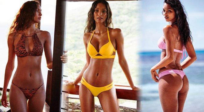 Lais Ribeiro – Victoria's Secret Bikini Photoshoot
