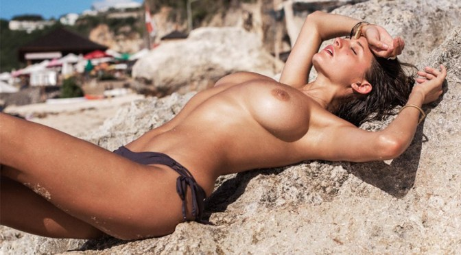 Alyssa Arce – Topless Photoshoot by Glen Krohn (NSFW)