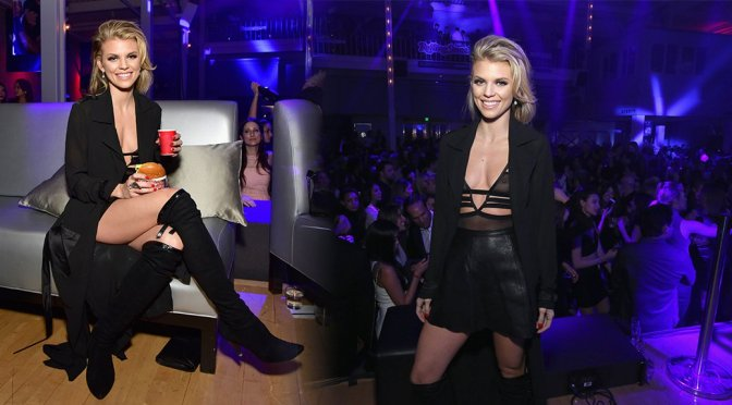 AnnaLynne McCord – Rolling Stone Live SF in San Francisco