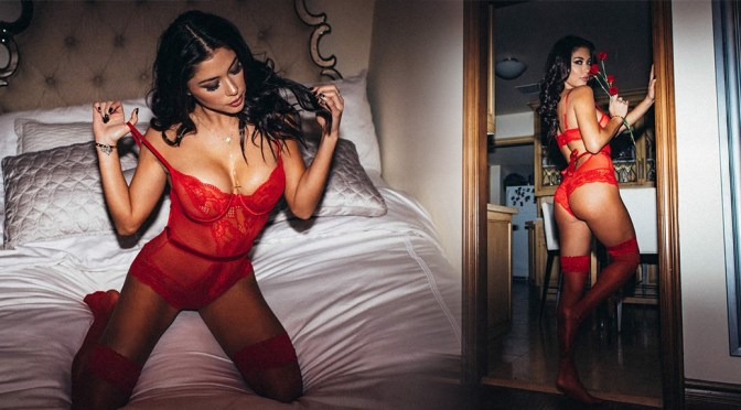 Arianny Celeste – Cupid's Angel Photoshoot